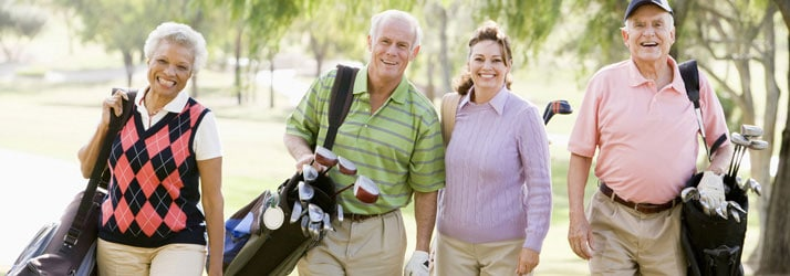 Elderly Golfers